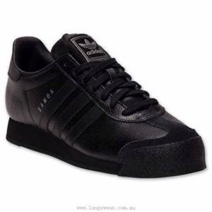 Adidas Samoa black and silver